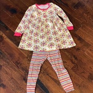 Hanna Andersson, size 100, play dress/leggings
